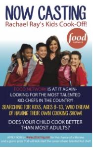 Rachel Rae Kids Cook Off