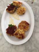 Delectable Dinners Corn Fritters, Pepperoni Cups