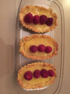 Lemon Raspberry Tarts, Cabaret