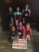 Flag Cake, 1