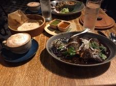 Frontera Mole and Chocolate Cappuccino