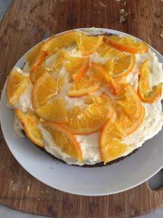 Honey Cake with Citrus