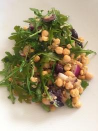 Smashed Chickpea Salad