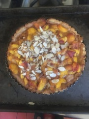 Peach Almond Tart
